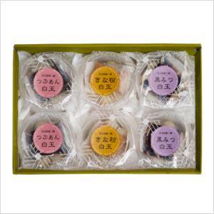 【送料込】白玉甘味小鉢3種6個入商品画像