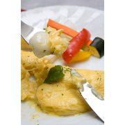 白玉のとろふわアレンジ料理「チーズオムレツ白玉」