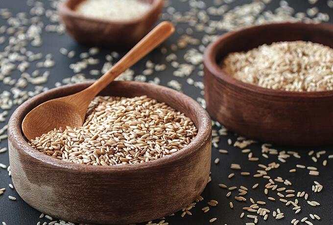 グルテン含有量が多い食品は小麦以外にも!