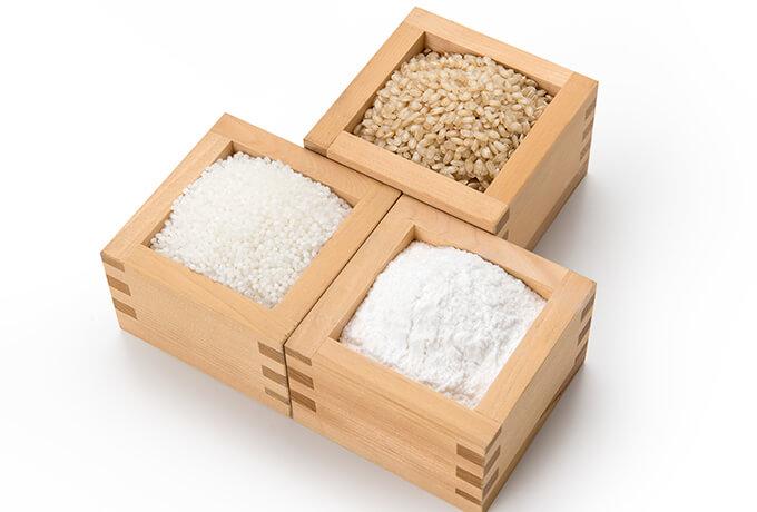 グルテンフリー食品に使用されている原料
