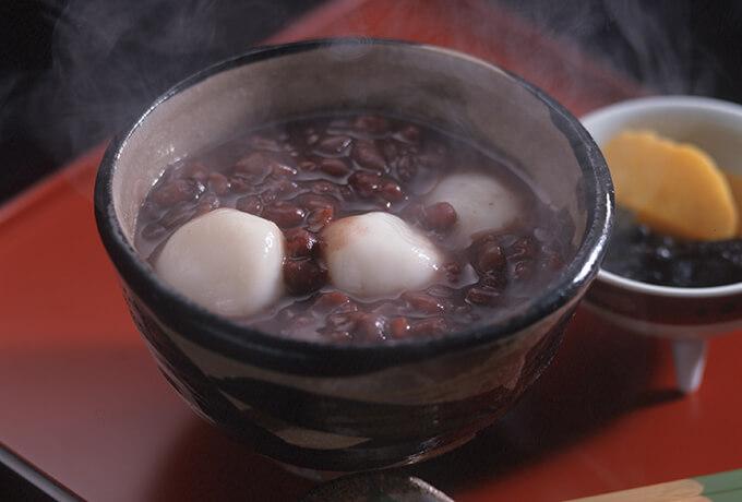 当店おすすめの伝統的な白玉の食べ方